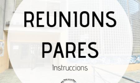 Reunions de pares 2020-21