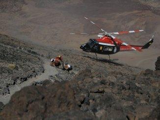 Вертолет вывез