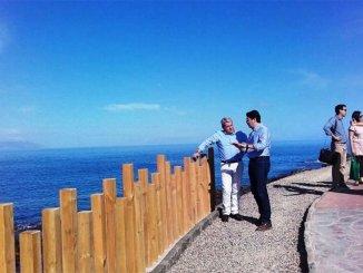 Закончены работы по улучшению Camino de Punta Blanca, в Guía de Isora