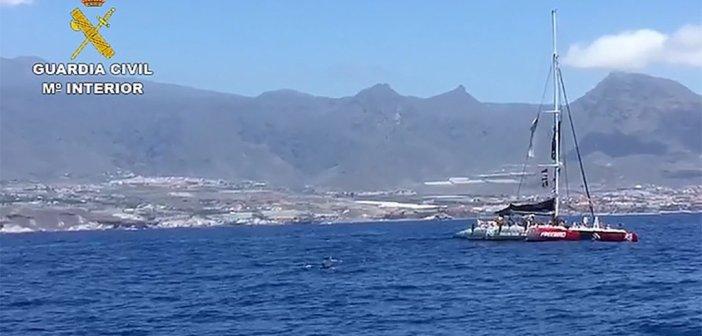 Гражданская гвардия контролирует экскурсии с желающими наблюдать китов