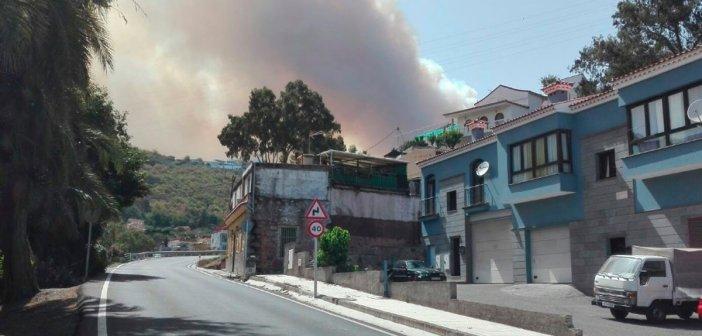 В связи с пожаром на острове Gran Canaria задействованы службы на Tenerife, La Palma, La Gomera и El Hierro