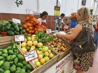 Фермерский рынок Arona открывается каждую субботу и воскресенье, с 8.00 до 14.00
