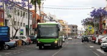 TITSA с сегодняшнего дня расширяет график пяти линий для улучшения мобильности на юге Тенерифе