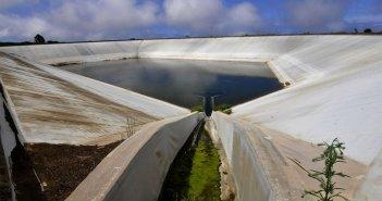 Заполненность бассейнов с дождевой водой заметно выросла на Тенерифе