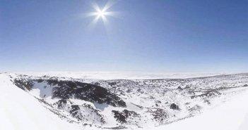 Снег на вершинах острова Тенерифе заставил закрыть ещё больше дорог