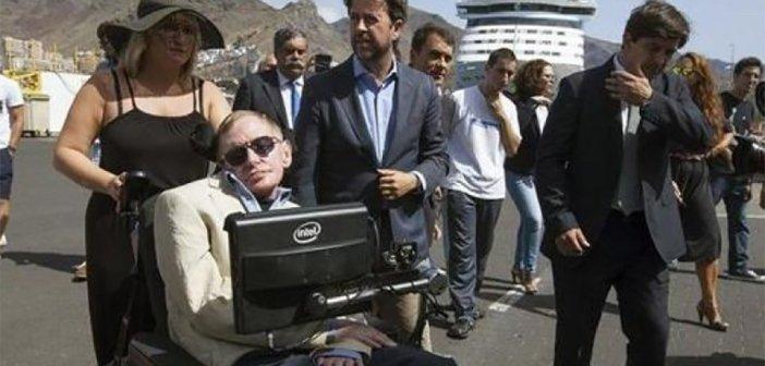 Hawking, специалист по чёрным дырам, не увидел такую на Тенерифе...