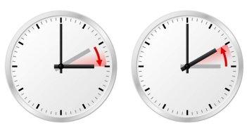 Смена времени: ранним утром часы убегут на час вперёд, и в 2.00 это будет 3.00