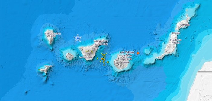 IGN за 24 часа зафиксировал 50 землетрясений между островами Тенерифе и Гран-Канария
