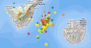 Сейсмический рой остается активным на Канарских островах