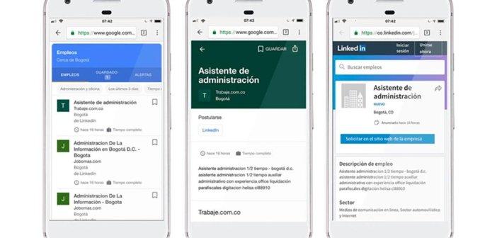 """Google Spain запускает приложение """"Empleos"""" в своей поисковой системе, в помощь ищущим работу"""