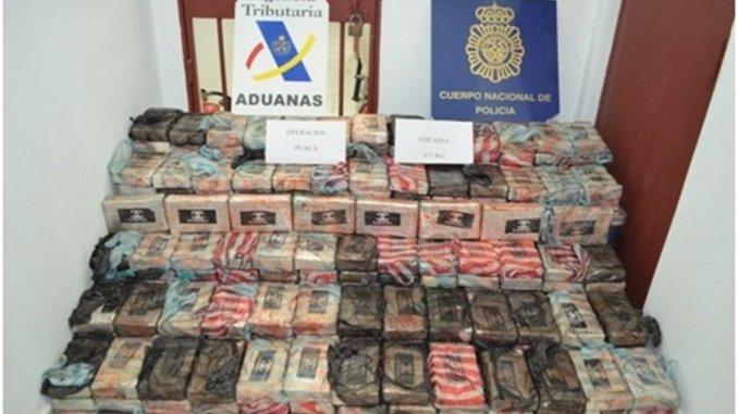 В водах острова Тенерифе перехвачен парусник с 371 килограммом кокаина