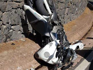 Ещё две аварии с участием мотоциклистов на Тенерифе
