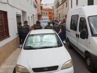 Гражданская гвардия сделала обыск в квартире подозреваемого в убийстве