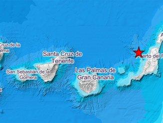 Воскресное землетрясение в океане возле архипелага