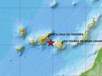 Сегодня зарегистрировано два землетрясения между Тенерифе и Гран-Канария