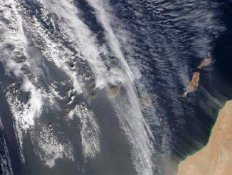 Калима накрыла все острова Канарского архипелага, в дополнение к сильным ветрам