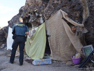 В очередной раз полиция выселила нелегальных поселенцев