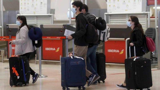Аэропорты Испании в июле: 76% пассажиров меньше