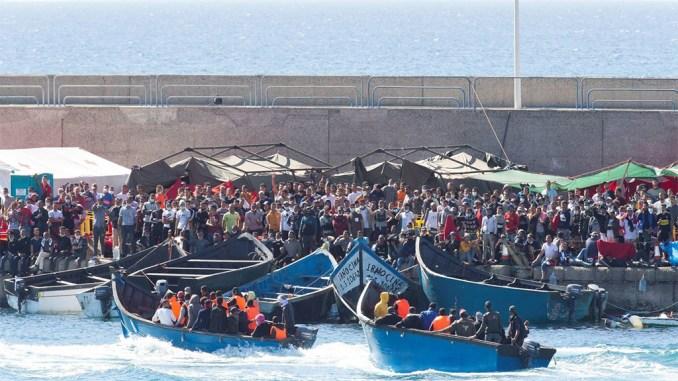 Правительство уже потратило миллионы евро на миграционный кризис на Канарах