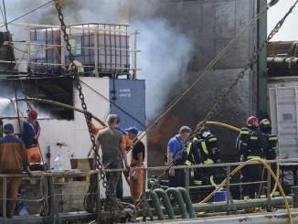 Канары: пожар на российском судне унёс жизни нескольких человек