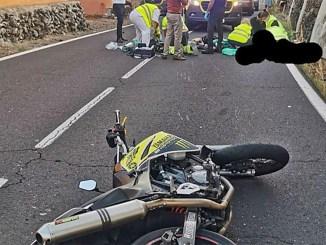 Тенерифе: трое погибших мотоциклистов за прошедшие выходные дни