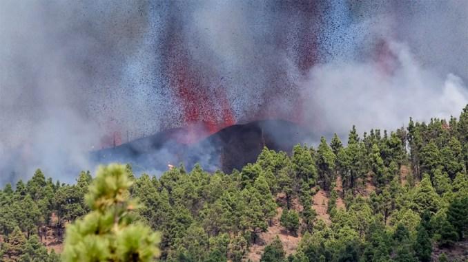 Свершилось! На острове La Palma, Канарские острова, началось извержение вулкана