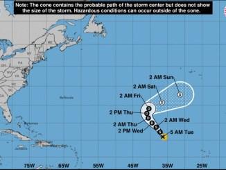 Тропический шторм Rose может вскоре достичь Канарских островов