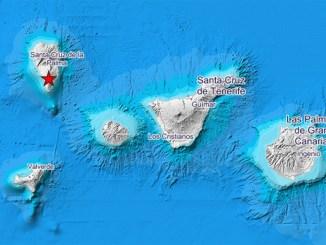 Уменьшилось количество подземных толчков на острове La Palma