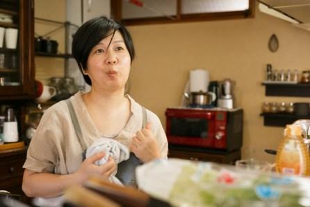野菜に恋している千田さん。