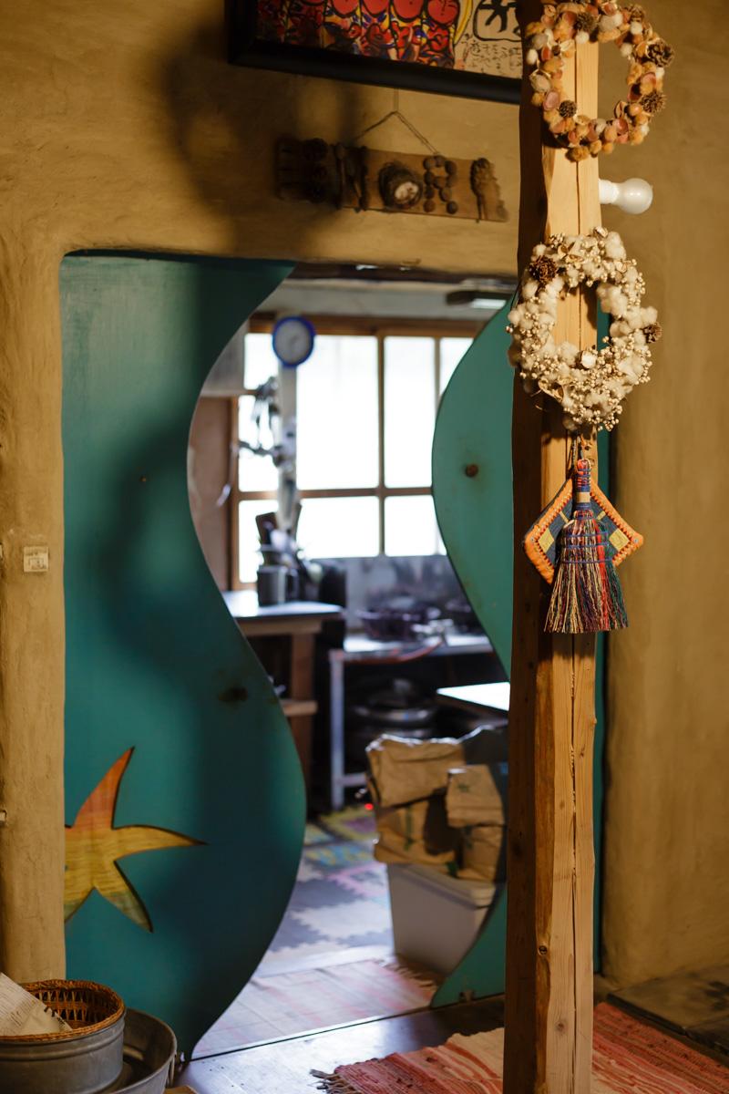 作業場への扉