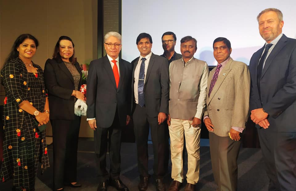Ambassador of Peru in India with IETO delegation