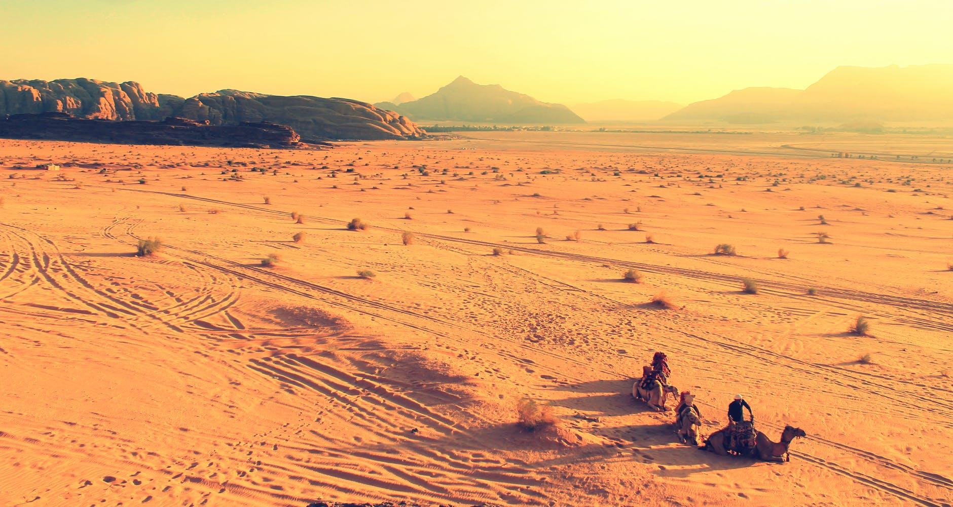 sand desert yellow orange