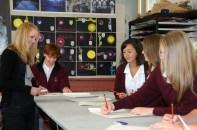 Class at Cashmere High New Zealand