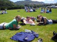 Lunchtime in Upperhutt School in New Zealand