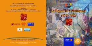 Catàleg Exposició transició portada