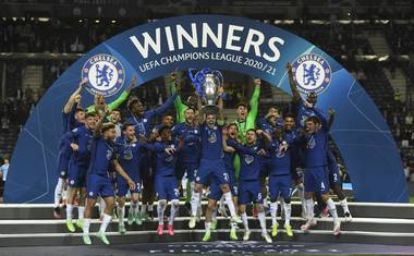 UCL Final: Chelsea Beat Man City to win 2020/2021 Champions League