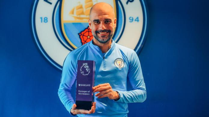 EPL: Pep Guardiola Named Manager Of The Year