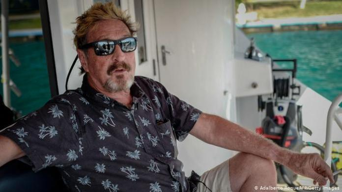 John McAfee found dead in prison after Spanish court permits extradition |  News | DW | 23.06.2021