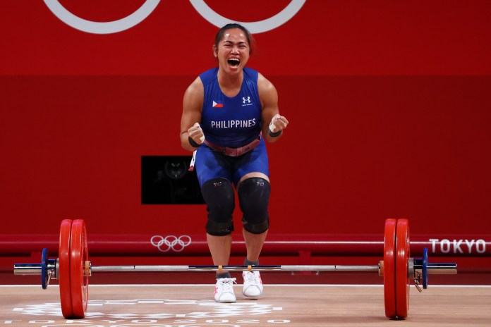 Weightlifting-Diaz wins first ever Olympic gold for Philippines | Reuters