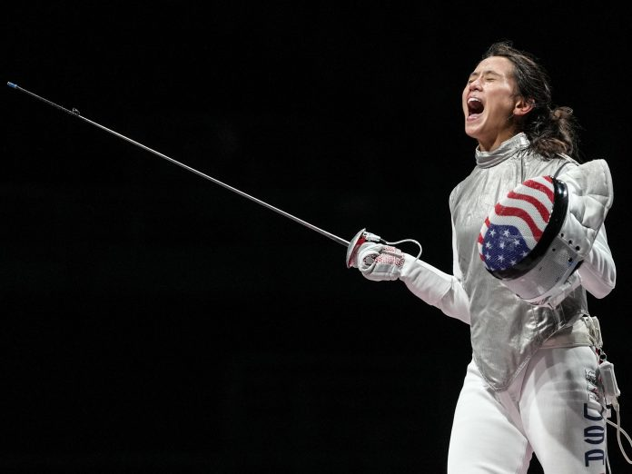Lee Kiefer Just Won a Gold Medal While Attending Medical School | SELF