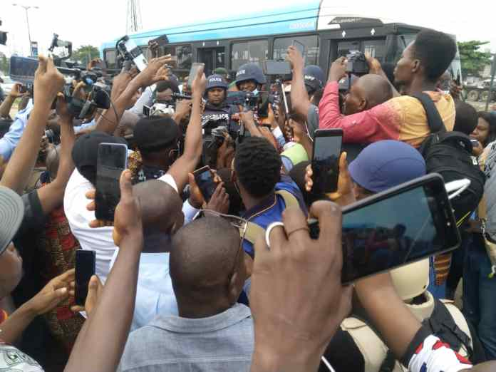 Yoruba Nation Rally Live in Ojota, Despite Police Presence