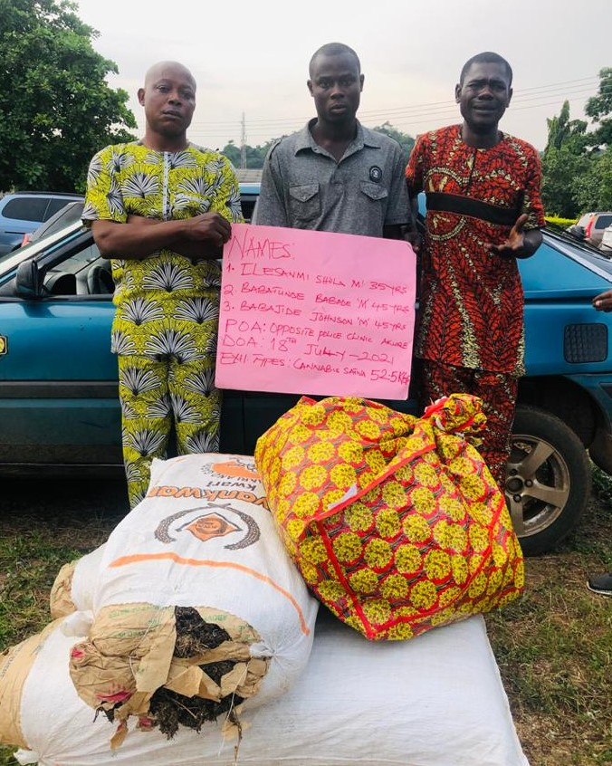 NURTW Chairman And 3 Others Arrested For Drug Trafficking By NDLEA