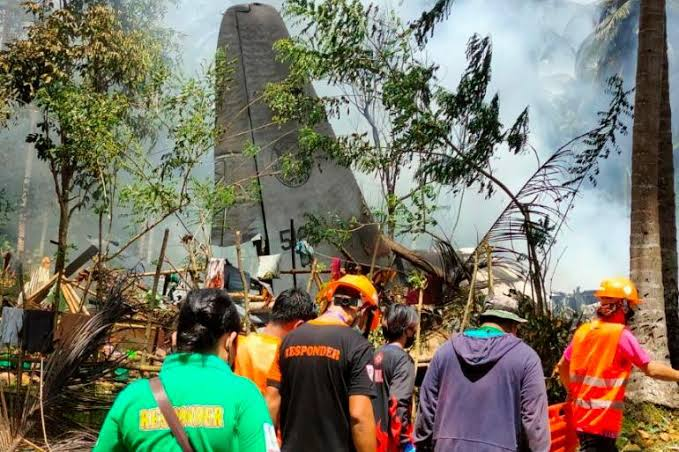 50 Dead As Plane Carrying 96 Soldiers Crashes