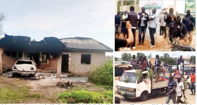 Jos Killings: Youths Dump Over 20 Corpses At Plateau Government House