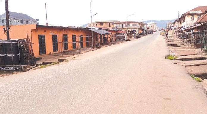 BREAKING: Roads Deserted, Banks Shut As Buhari Visits Imo