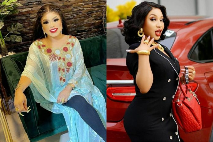 Bobrisky Apologises To Tonto Dikeh After Calling Her Out On Social Media