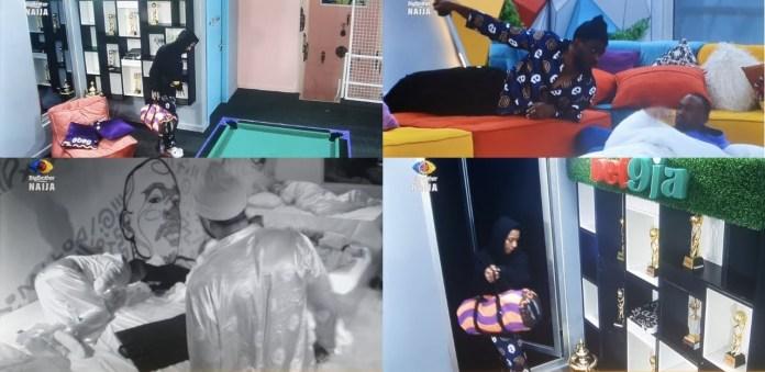 BBNaija S6: Housemates In Shock As Nini Returns