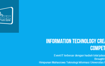 Information Technology Creative Competition (ITCC) 2013