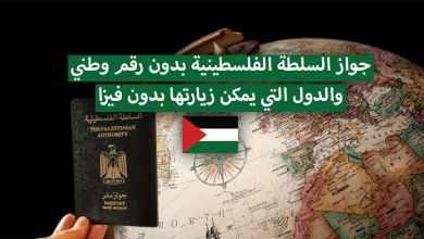 Photo of جواز السلطة الفلسطينية بدون رقم وطني والدول المسموح دخولها
