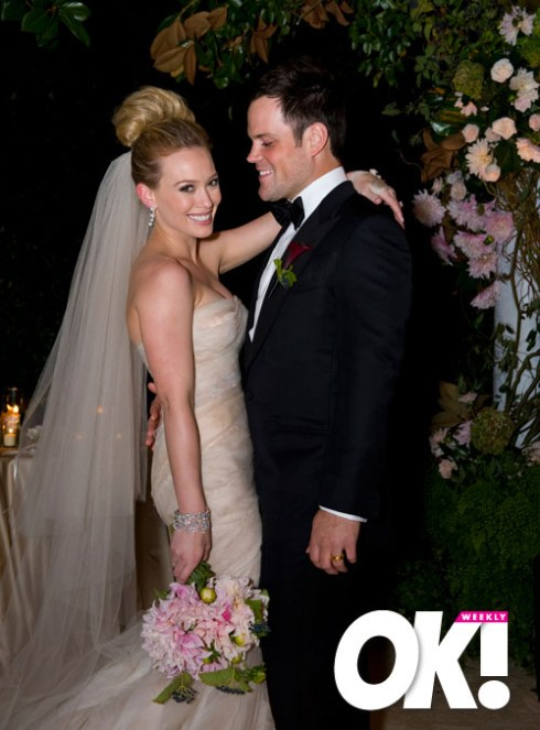 Hillary Duff Wedding Dress